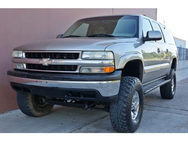 Chevrolet : Suburban 2500 LT 4X4 01 chevy suburban lt 2500 4 x 4 w suspension lift accident free rust free tx suv