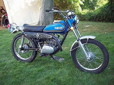 Yamaha : Other 1973 yamaha at 3 125 cc vintage enduro at ct dt rt