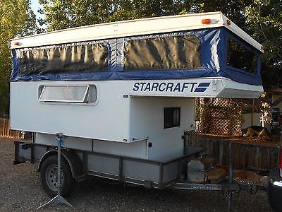1999 STARCRAFT ROADSTAR POP UP TRUCK CAMPER LIKE NEW LOW PROFILE FOLD DOWN AZ/UT