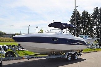 2002 Stingray 240LR Bowrider 300 HP Only 133 Hours Clean