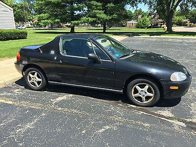 Honda : Civic SI 1995 honda civic del sol si coupe 2 door 1.6 l