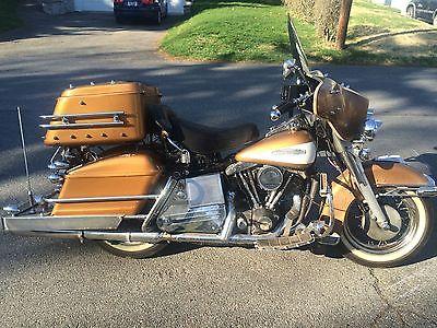 Harley-Davidson : Touring One Owner Survivor!!! 1970 Shovelhead FLH ~King of the Highway!!!