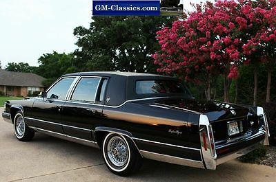 Cadillac : Fleetwood Brougham 1990 cadillac fleetwood brougham d elegance as new gm museum car