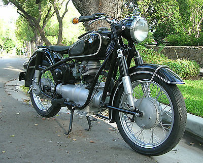 BMW : R-Series BMW 1958 R26 Motorcycle Matching Numbers Rare Restored Rebuilt Running