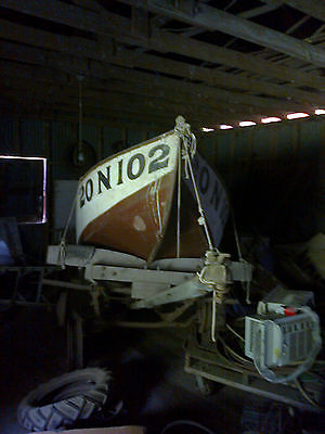 Antique Wooden Boat