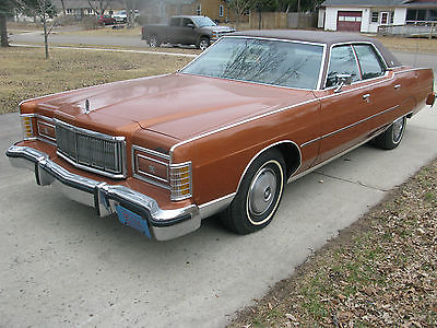 Mercury : Other 1 owner 1977 murcury 4 door hard top in excellent cond all power 62 000 miles