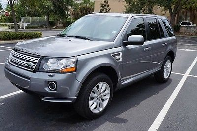 Land Rover : LR2 2013 land rover lr 2 awd clean carfax gray over beige interior