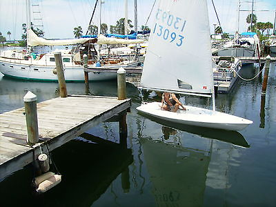 14 ft. LASER sailboat. In good condition.Sail,mast,boom,rudder and centerboard