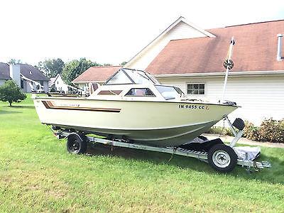 19 Ft Starcraft Aluminum Fishing Boat 1984