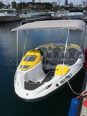2008 SEADOO 150 SPEEDSTER 155HP WITH TRAILER