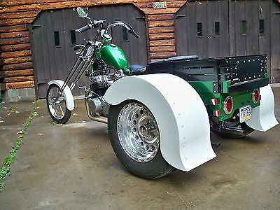 Custom Built Motorcycles : Chopper CB750 HONDA CHOPPER TRIKE