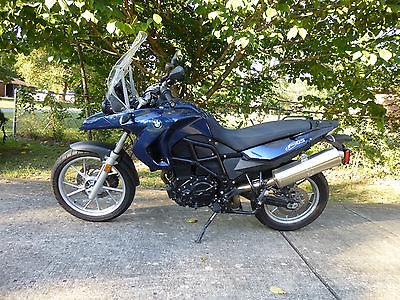 BMW : F-Series 2010 f 650 gs parallel twin blue 2 500 miles