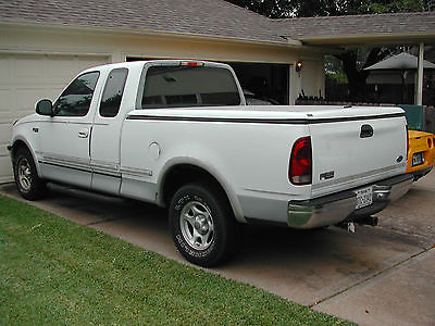 Ford : F-150 Lariat Extended Cab Pickup 3-Door 1997 ford f 150 lariat 4.6 l 4 sp auto gray leather 2 wd w bed cover