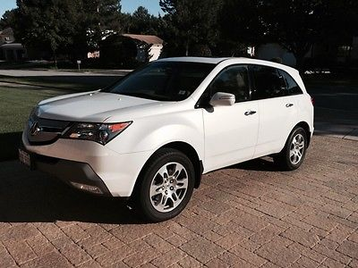 Acura : MDX Tech Package with GPS 2009 acura mdx awd tech pkg nav rear camera 3 rd row heated seats moonroof 1 owner