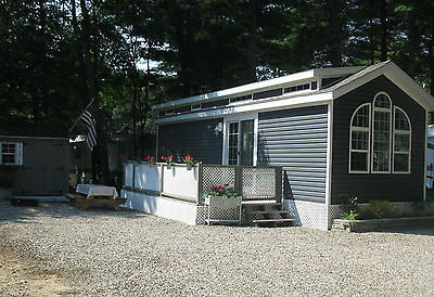 2015 Skyline Park Model Vacation Home Old Orchard Beach Maine Many Extras
