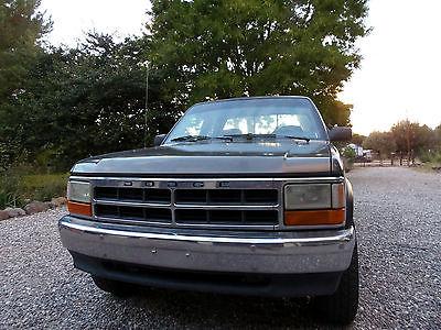 Dodge : Dakota 1992 dodge dakota club cab 4 x 4