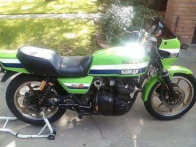 Kawasaki : Other 1982 kawasaki gpz 1100 eddie lawson clone turbo powder coating new tires 9 9.5