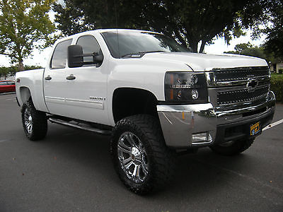 Chevrolet silverado 2500 cars for sale in gainesville florida chevrolet silverado 2500 lt z71 09 chevy 2500 hd diesel lifted 22 xd chrome wheels publicscrutiny Gallery
