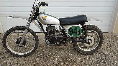 Honda : CR 1973 73 1974 74 honda cr 250 m cr 250 cr 250 elsinore vmx ahrma race bike pfr pipe
