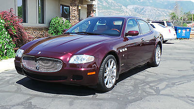 Maserati : Quattroporte Executive GT Sedan 4-Door 2006 maserati quattroporte executive gt sedan 4 door 4.2 l v 8 gorgeous