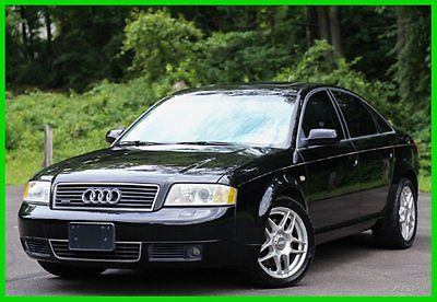 Audi : A6 4.2L 2002 audi a 6 quattro 4.2 v 8 awd quattro serviced florida rare loaded