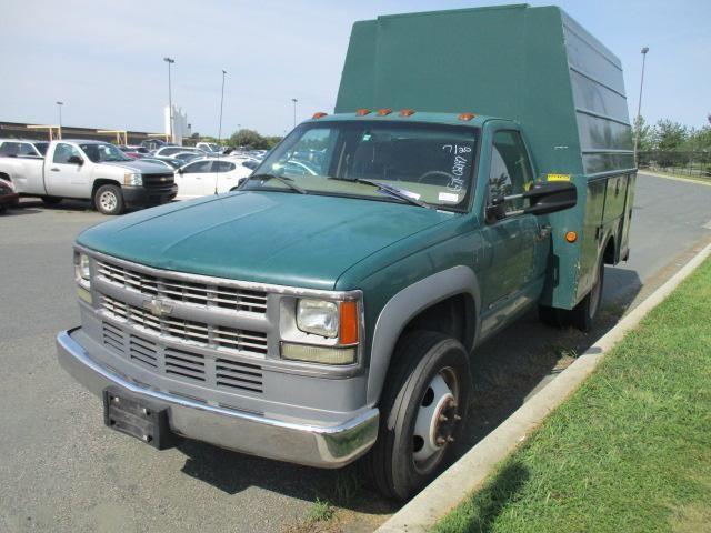 Chevrolet : C/K Pickup 3500 Reg Cab 183. 2001 chevrolet 3500 hd utility bed diesel dually govt owned 72 k miles