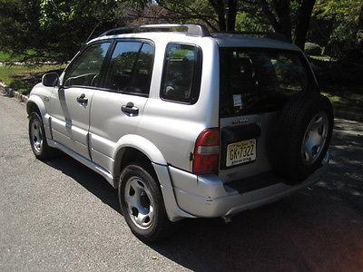 Suzuki : Grand Vitara JLX Plus SE Sport Utility 4-Door 2001 suzuki grand vitara jlx plus se sport utility 4 door 2.5 l