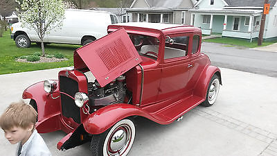 Chevrolet : Other 1931 chevy 5 window coupe very rare car very nice car show quality
