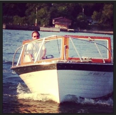 1970 Lyman Cruisette Wood Woody Lake Erie Speedboat Boat