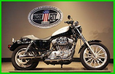 Harley-Davidson : Sportster 2004 harley davidson sportster 883 silver black watch our video