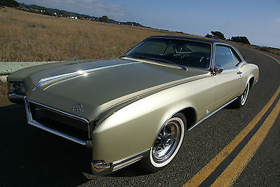 Buick : Riviera 2 door coupe 1967 buick riviera well documented low miles survivor fawn