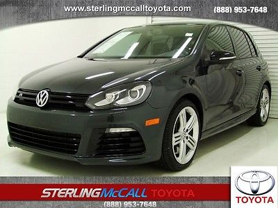 Volkswagen : Golf w/Sunroof & Navi 2013 vw golf r sunroof navigation leather awd