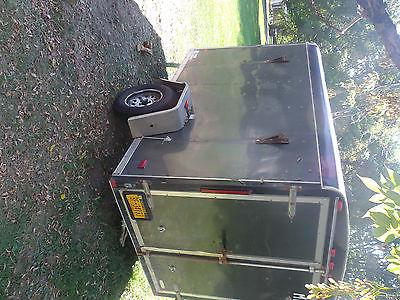10 x 6 - cargo - enclosed trailer