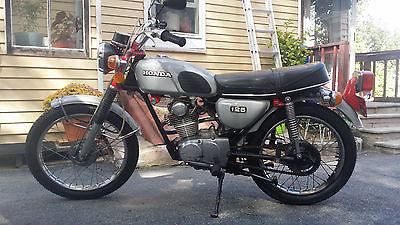 Honda : CL 1974 honda cl 125