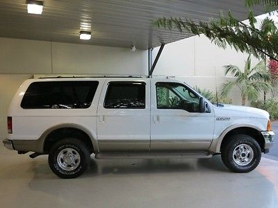 Ford : Excursion FreeShipping Excursion 7.3L Diesel 4X4 Limited Excellent Condition! NEW TIRES~BACKUP SENSORS!