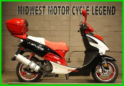 Other Makes : Superscooter 2008 superscooter mp 150 b 150 cc red white watch our video