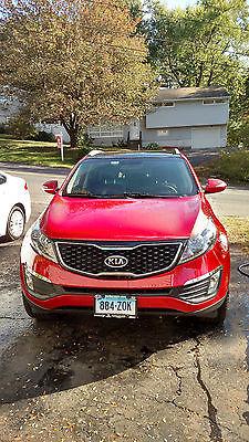 Kia : Sportage SX Sport Utility 4-Door red, kia, sportage, 2012, warranty, SUV, crossover, all wheel drive, AWD