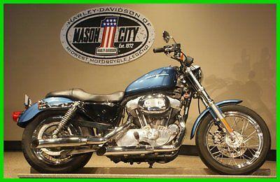 Harley-Davidson : Sportster 2005 xl 883 l sportster 883 low chopper blue watch our video