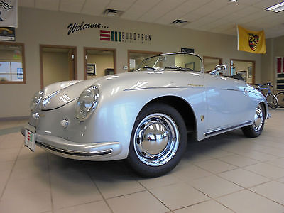 Porsche : 356 1955 porsche 356 speedster tribute replica