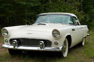 Ford : Thunderbird Base Convertible 2-Door 1956 ford thunderbird convertible 2 door v 8