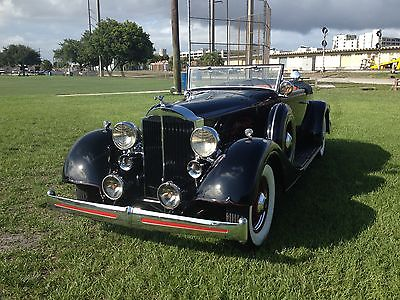 Packard 1934 packard eight original conv coupe 1101 will be in hershey car corral