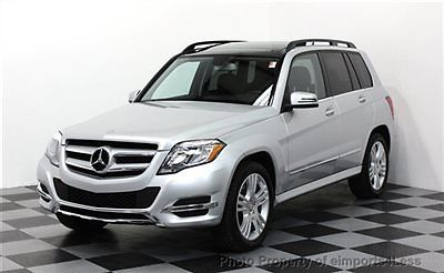 Mercedes-Benz : GLK-Class CERTIFIED GLK350 4Matic AWD NAVI / PANO / KEYLESS REAL FULL SIZE NAVIGATION awd back-up camera 2014 14k keyless go PANORAMA ROOF