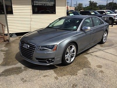 Audi : S8 Quattro S 2014 audi s 8 sedan 4 door 4.0 l 520 hp