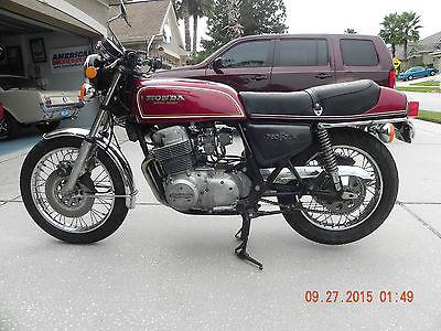 Honda : CB 1975 honda cb 750 f super sport