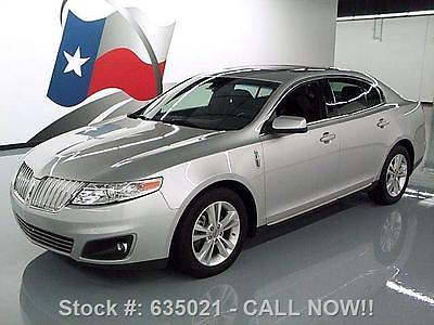 Lincoln : MKS HEATED LEATHER SUNROOF PARK ASSIST 2009 lincoln mks heated leather sunroof park assist 30 k 635021 texas direct