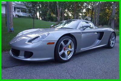 Porsche : Carrera GT 2005 used 5.7 l v 10 40 v manual rwd coupe premium bose