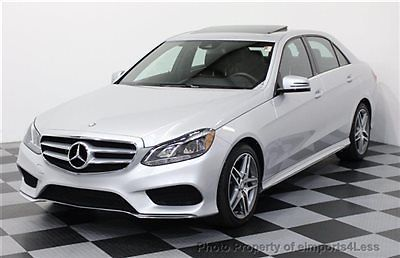 Mercedes-Benz : E-Class CERTIFIED E350 4Matic AMG SPORT AWD NAVIGATION AWD CERTIFIED 2014 6k miles NAVI lane tracking AMG SPORT back-up camera HK AUDIO
