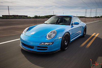 Porsche : 911 Carrera S Coupe 2-Door 2006 porsche carrera s mexico blue 500 hp supercharged 997
