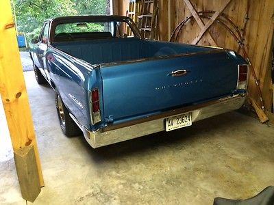 Chevrolet : El Camino El Camino 350 ci 360 hp goodwrench crate engine factor 4 speed 3 73 positrac rear