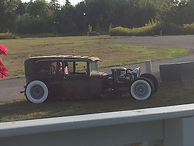 1928 1929 1930 1931 Model A Ford Ratrod Streetrod Stainless Windshield Swing Arm